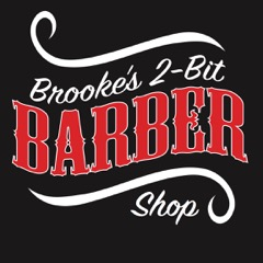 Two Bit Barber Shop Logo